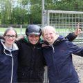 Insa und Sophie beim AKA I Andrea Kutsch Kids & Youth Feriencamp in Groß Wittensee im Mai 2015